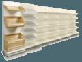 Стелажі розпродаж складських залишків