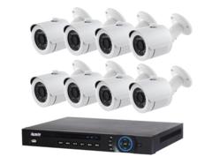 Система відеоспостереження IP 8 зовнішніх камер 2МП