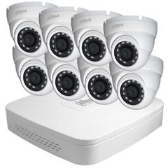 Система відеоспостереження IP 8 внутрішніх камер 2МП