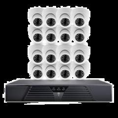 Система відеоспостереження IP 16 внутрішніх камер 2МП