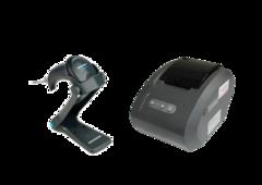 Комплект Сканер штрих-кодів Datalogic QScan QW2100 USB + Принтер чеків Gprinter GP-58130IVC