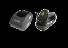 Комплект Сканер бездротовий Newland HR1550-CE + Принтер чеків Gprinter GP-58130IVC