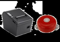 Комплект Принтер чеків RTPOS 80L + Кухонний дзвінок Posiflex KL-100