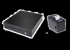 Комплект Грошова скриня Maken EK-330 + Принтер чеків RTPOS 58 USB