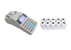 Комплект Касовий апарат Гера MG-V545T (GSM/GPRS) + Касова стрічка 57*19 блок