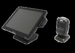 Комплект POS-термінал MapleTouch 156U + Стаціонарний сканер штрих-кодів Newland FR4060 Akame