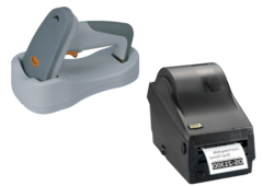 Bluetooth сканер штрих-кодів Argox AS-8520 + Принтер етикеток Argox OS-2130D