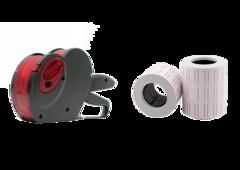 Этикет-пистолет SMART 2112-8 + Этикетка самоклеющаяся 21 х 12 (блок 10 рулонов)