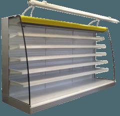 Холодильна гірка Napoli — РОСС (виносний холод)