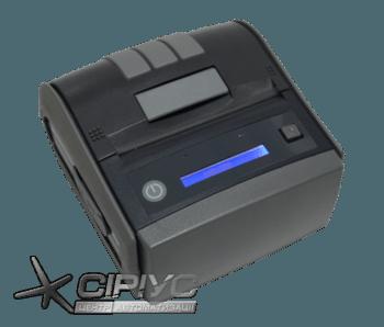 Мобільний Bluetooth фіскальний принтер чеків Екселліо FPP 350