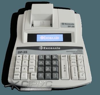 Екселліо DP‑35 з КСЕФ (Ethernet)
