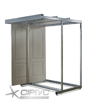 Стелаж для дверей (дверних полотен)