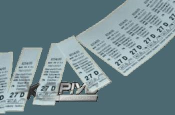 Нейлонові бірки-етикетки для одягу