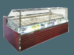 Морозильна вітрина для м'якого морозива Міссурі Ice Cream — Технохолод
