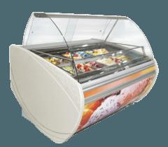 Холодильна вітрина для м'якого морозива Теннессі — Технохолод