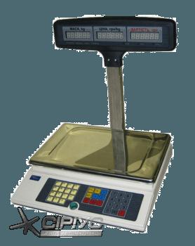 Ваги електронні торгові ВТА-60/15-5D-Т-AC