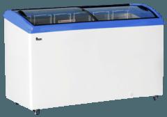 Морозильна скриня з гнутим склом M600S — Juka