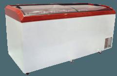 Морозильна скриня з гнутим склом M800S — Juka