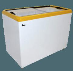 Морозильна скриня з прямим склом M200P — Juka