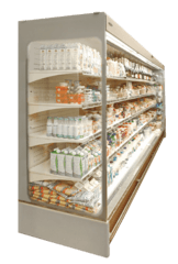 Пристінна холодильна вітрина Індіана Cube — Технохолод