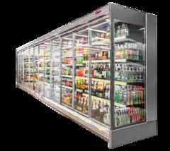 Пристінна холодильна вітрина (гірка) Луїзіана — Технохолод
