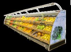 Холодильна вітрина для овочів та фруктів Луїзіана VF — Технохолод