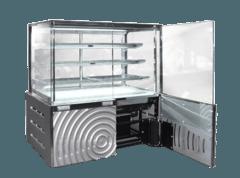 Кондитерська холодильна вітрина Дакота Cube Luxe — Технохолод