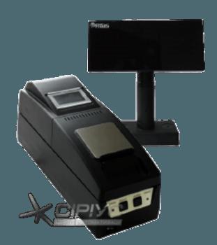 Фіскальний реєстратор DATECS FP 3530T v 5.00 (зі стійкою)