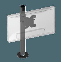 Горизонтальний тримач монітора 90 мм