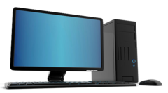 POS-комп'ютер SIRIUS з монітором и БЖЖ