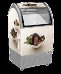 Морозильна вітрина для вагового морозива M100Q - Juka 3 вида морозива