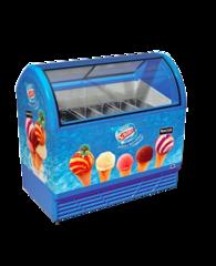 Морозильна вітрина для вагового морозива M400Q - Juka 9 видів морозива