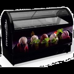 Морозильна вітрина для вагового морозива M600Q - Juka 12 видів морозива
