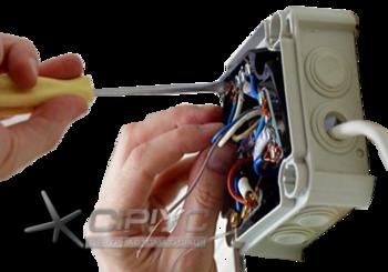 Монтаж встановлення електропроводки