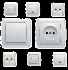 Монтаж встановлення світильників, розеток, вимикачів