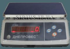 Професійні фасувальні ваги Днепровес F998-6/0.1ED