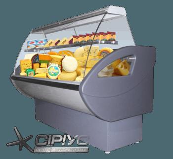Холодильна вітрина для ринку Росинка — РОСС