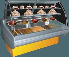 Кондитерська холодильна вітрина Belluno-K — РОСС