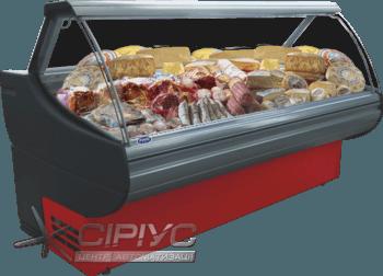Холодильна вітрина Sorrento D з динамічним охолодженням