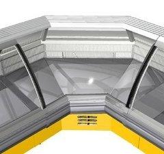 Кутова внутрішня холодильна вітрина Sorrento УВ — РОСС