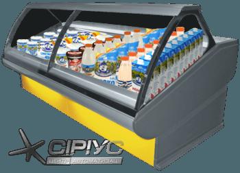 Холодильна вітрина Florenzia — РОСС