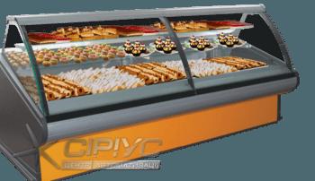 Кондитерська холодильна вітрина Florenzia-K — РОСС