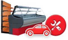 Доставка та встановлення холодильного обладнання, стелажів